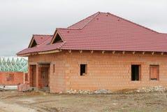 HOME do edifício Imagem de Stock