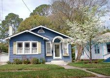 HOME do estilo da casa de campo de Florida Fotos de Stock Royalty Free