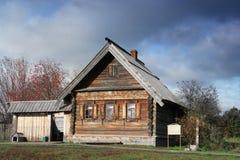 HOME do fazendeiro de 19 séculos Imagens de Stock