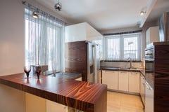 HOME do país - cozinha Imagem de Stock Royalty Free