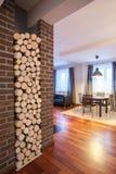 HOME do país - sala de visitas Fotos de Stock Royalty Free