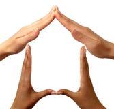 HOME do símbolo Imagens de Stock