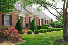 HOME do tijolo da história de Idential 2 Fotografia de Stock Royalty Free