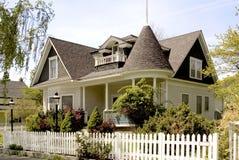 HOME do Victorian Fotografia de Stock