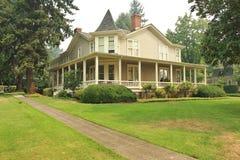 HOME do Victorian Fotografia de Stock Royalty Free
