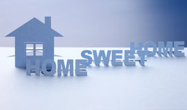 HOME doce Foto de Stock