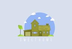 HOME doce Imagem de Stock