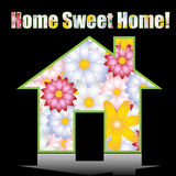 HOME doce Home Fotografia de Stock Royalty Free
