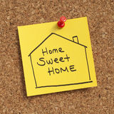 HOME doce Home Imagens de Stock Royalty Free