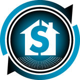 Home dollar Stock Photography