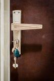 Home Door with Keys Stock Images