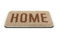 Home doormat Royalty Free Stock Images