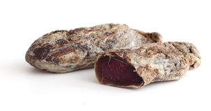 Home dried and salted meat Royalty Free Stock Image