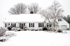 Free Home During A Storm Stock Image - 36075841