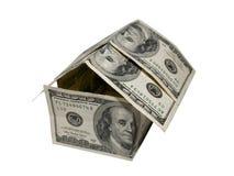 HOME e hipoteca Imagem de Stock Royalty Free