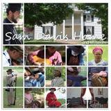 HOME e museu de Sam Davis imagem de stock royalty free
