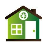 Home ecology green icon Stock Photo