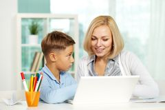 Home education Stock Photos