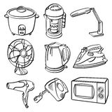 Home Electric Appliances Royalty Free Stock Images