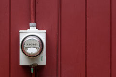 Home Electric Meter Stock Photography