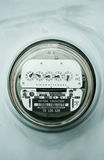 Home electric power meter Stock Photo