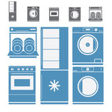 Home Electronic Appliances stock images