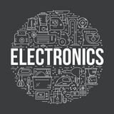 Home Electronics Royalty Free Stock Images