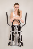Home elliptical trainer Royalty Free Stock Image