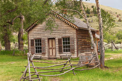 HOME em Bannack Fotografia de Stock Royalty Free