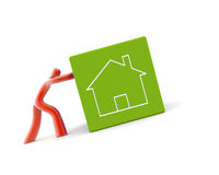 Home and energy efficiency stock illustration