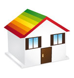 Home energy icon. Royalty Free Stock Image