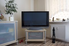 Home entertainment center Royalty Free Stock Photo