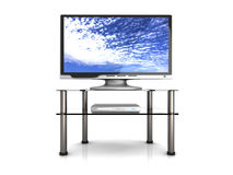 Home Entertainment System. 3D rendered Illustration. Home Entertainment System Royalty Free Stock Image