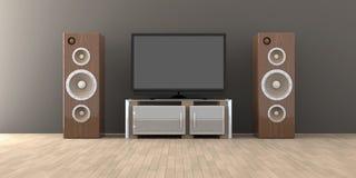 Home Entertainment System Stock Photos
