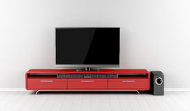 Home entertainment system Royalty Free Stock Image