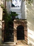 Home entrance. In Charleston, South Carolina Royalty Free Stock Photography