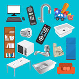Home equipment Royalty Free Stock Photography
