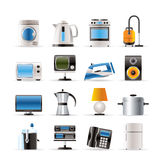 Home equipment icons royalty free illustration