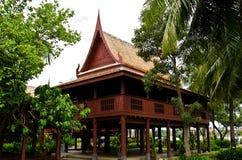 HOME, estilo tailandês, central de Tailândia Fotografia de Stock Royalty Free