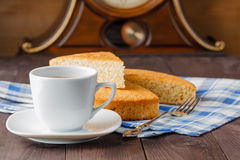 Home evening coffee Stock Images