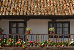 Home In Excalante, Cantabria, Spain Royalty Free Stock Photo