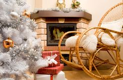 Home expecting Christmas Stock Image