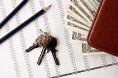 Home Expenses Stock Image