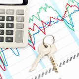Home expenses Stock Photography