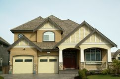 Home Exterior Stock Image
