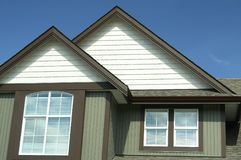 Home Exterior House Canada BC Stock Image