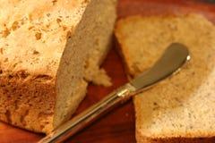 A HOME fêz o pão Foto de Stock