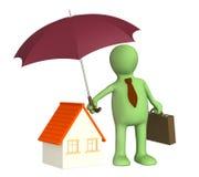 home försäkring stock illustrationer