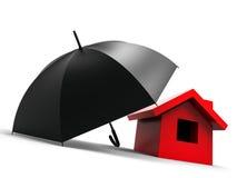 home försäkring för begrepp Arkivbilder