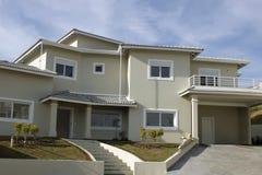 Home facade. An architecture theme: Home facade Stock Images